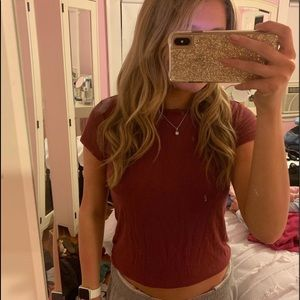 AEO Soft and Sexy Ribbed T Shirt